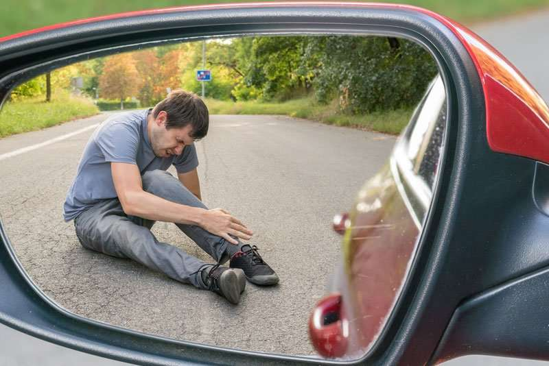 Leaving the scene of an accident is a road traffic offence